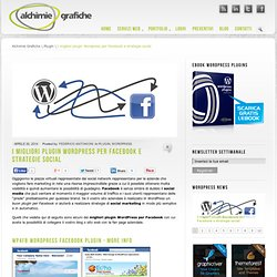 I migliori plugin Wordpress per Facebook e strategie social