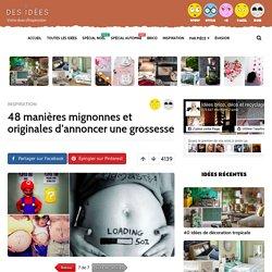48 manières mignonnes et originales d'annoncer une grossesse - Page 7 sur 7 - Des idées