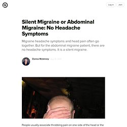 Migraines abdominal adult symptoms turns!