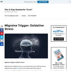 Migraine Trigger: Oxidative Stress