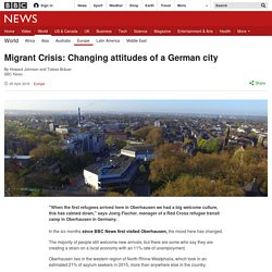 Migrant Crisis: Changing attitudes of a German city
