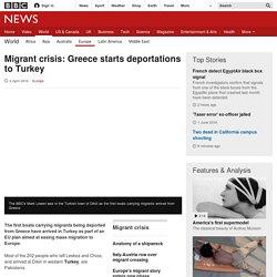 Migrant crisis: Greece starts deportations to Turkey