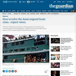 How to solve the Asian migrant boats crisis – expert views