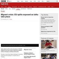 Migrant crisis: EU splits exposed as summit looms