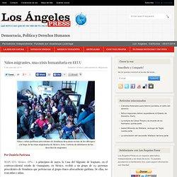 Niños migrantes, una crisis humanitaria en EEUU