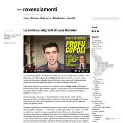 La verità sui migranti di Luca Donadel