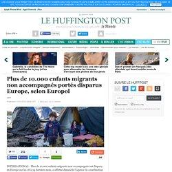 Plus de 10.000 enfants migrants non accompagnés portés disparus Europe, selon Europol