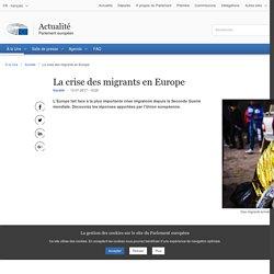 La crise des migrants en Europe
