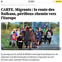 CARTE. Migrants : la route des Balkans, périlleux chemin vers l'Europe - 29 août 2015