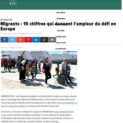 Migrants : 15 chiffres qui donnent l'ampleur du défi en Europe