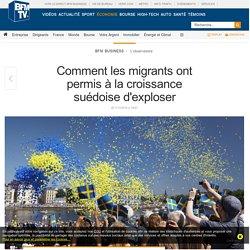 Comment les migrants ont permis à la croissance suédoise d'exploser