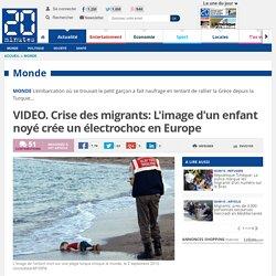 VIDEO. Crise des migrants: L'image d'un enfant noyé crée un électrochoc en Europe