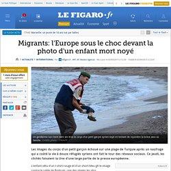 Migrants: l'Europe sous le choc devant la photo d'un enfant mort noyé
