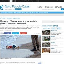 Migrants : l'Europe sous le choc après la photo d'un enfant mort noyé