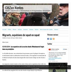 Migrants, expulsions de squat en squat