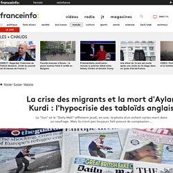 La crise des migrants et la mort d'Aylan Kurdi : l'hypocrisie des tabloïds anglais