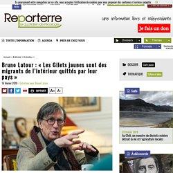 Bruno Latour: «Les Gilets jaunes sont des migrants de l'intérieur quittés par leur pays»