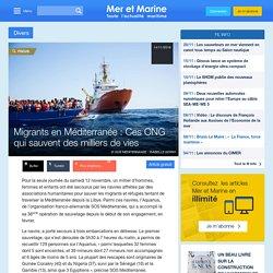 Migrants en Méditerranée : Ces ONG qui sauvent des milliers de vies