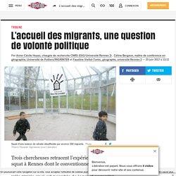 L'accueil des migrants, une question de volonté politique