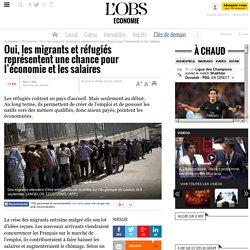 Oui, les migrants et réfugiés représentent une chance pour l'économie et les salaires