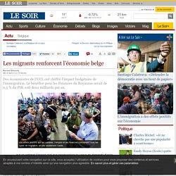 Les migrants renforcent l'économie belge