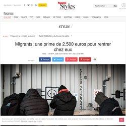 Migrants: une prime de 2.500 euros pour rentrer chez eux - L'Express Styles