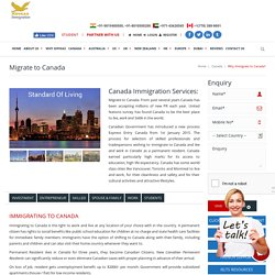Migrate to Canada - Canada Immigration - Express Entry Program 2015