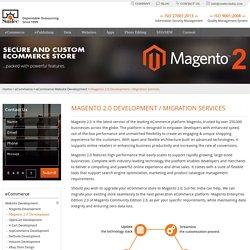 Magento 2.0 Development Services