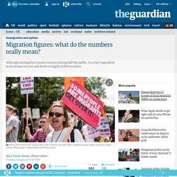 Migration figures: what do the numbers really mean?