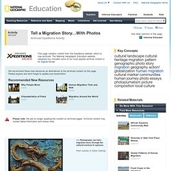 Activities - Xpeditions @ nationalgeographic.com