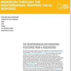 Migration through the Mediterranean: mapping the EU response