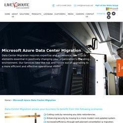 Azure Cloud Migration Services by LiveRoute