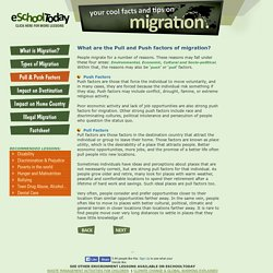 Migration: Pull and Push Factors