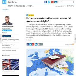 EU migration crisis: will refugees acquire full free movement rights?