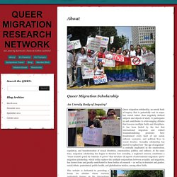 About « Queer Migration Research Network
