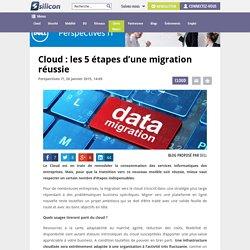 Cloud : les 5 étapes d'une migration réussie - Silicon