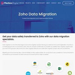 Zoho Migration and Implementation Partner – Flexbox Digital