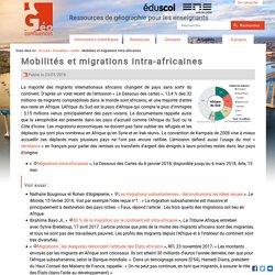 Mobilités et migrations intra-africaines