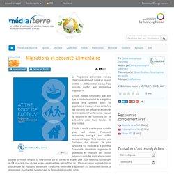 Migrations et sécurité alimentaire
