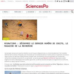 Migrations : découvrez le dernier numéro de Cogito, le magazine de la recherche