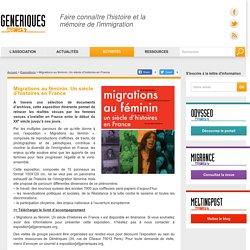 Génériques - Faire connaître l'histoire et la mémoire de l'immigration