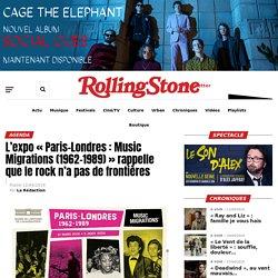 """L'expo """"Paris-Londres : Music Migrations (1962-1989)"""" rappelle que le rock n'a pas de frontières"""