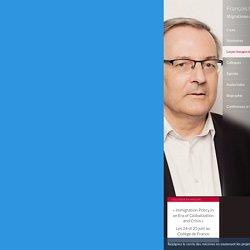 Migrations et sociétés - François Héran - Collège de France - 05 avril 2018 18:00
