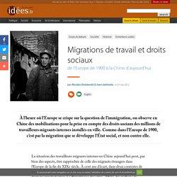 Migrations de travail et droits sociaux