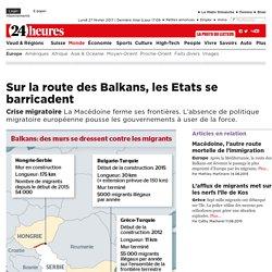 Crise migratoire: Sur la route des Balkans, les Etats se barricadent - News Monde: Europe