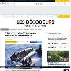Crise migratoire: l'hécatombe continue en Méditerranée