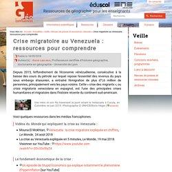 Crise migratoire au Venezuela : ressources pour comprendre