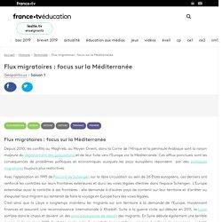 Flux migratoires : focus sur la Méditerranée - Vidéo - France tv Éducation