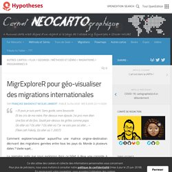 MigrExploreR pour géo-visualiser des migrations internationales
