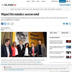 Miguel Hernández: acceso total